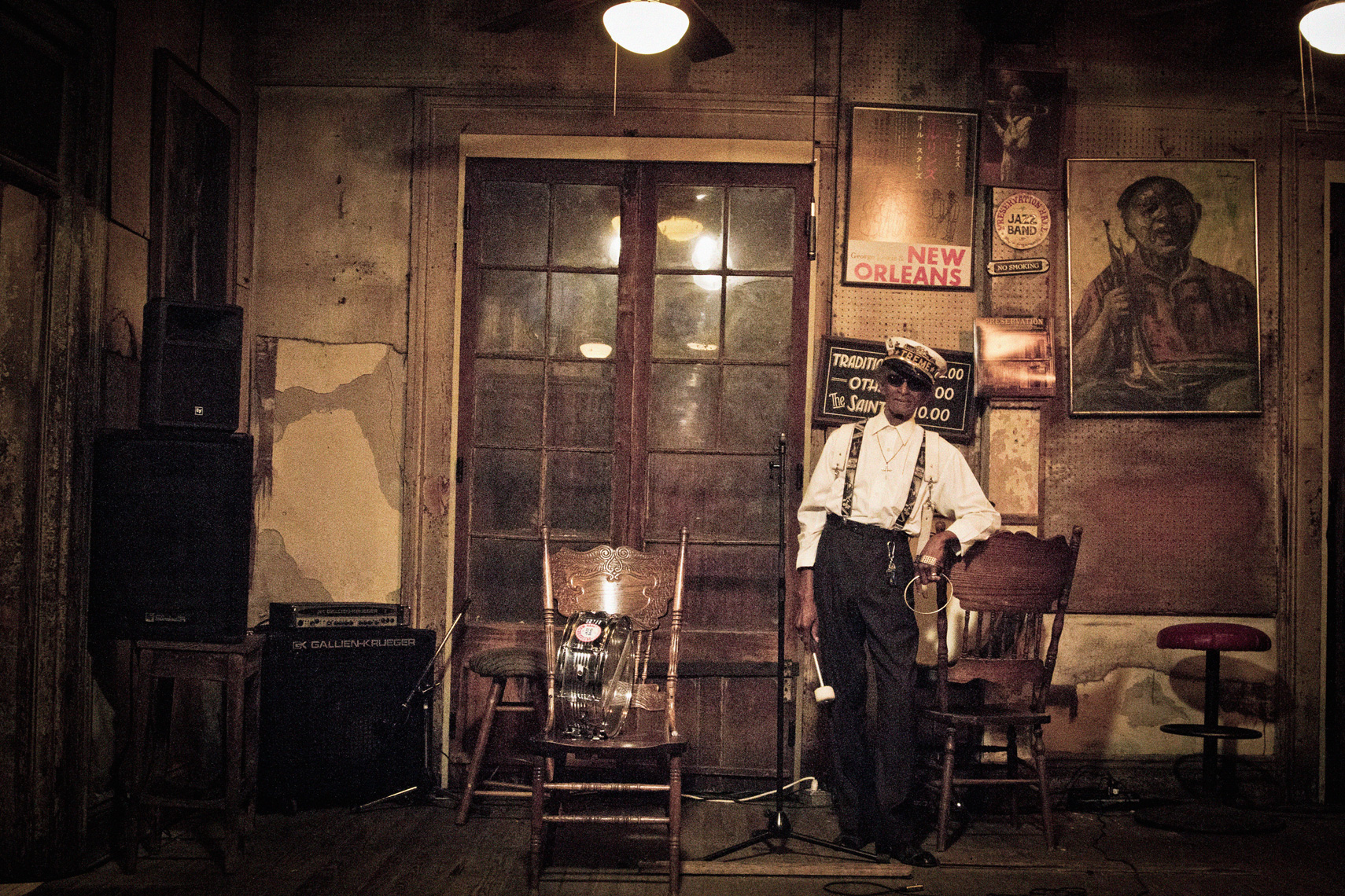Lionel Batiste, Preservation Hall, New Orleans