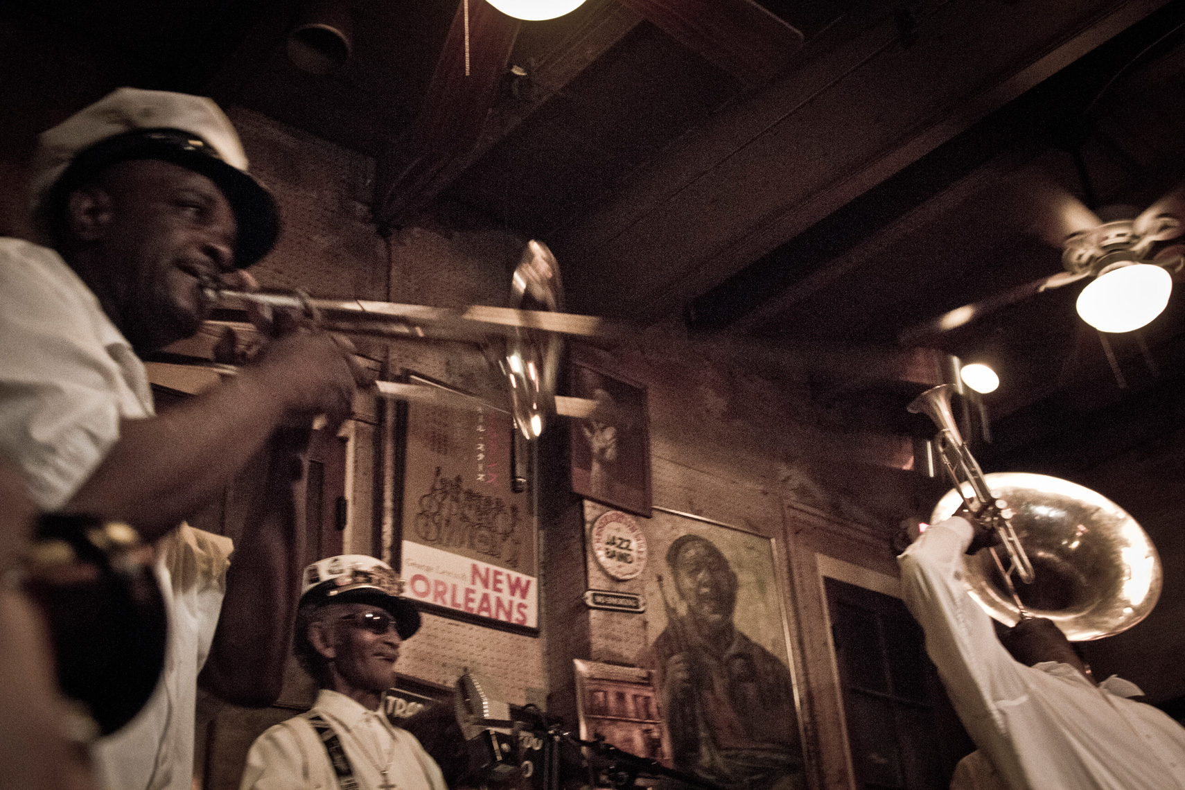 Treme Brass Band, Preservation Hall, New Orleans